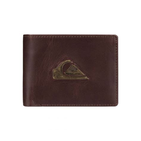 Quicksilver Leather 1 mens miss dollar ii leather wallet eqyaa03321 quiksilver