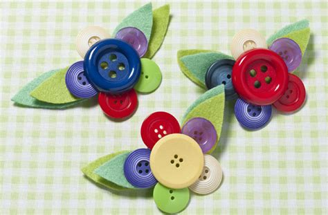 simple crafts simple button craft project for ideas arts and