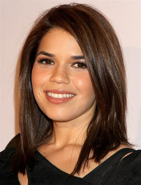 haircuts for round face medium length hair best medium length haircuts for round faces hairs