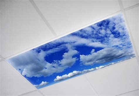 fluorescent light covers sky fluorescent light lenses are perfect for office buildings