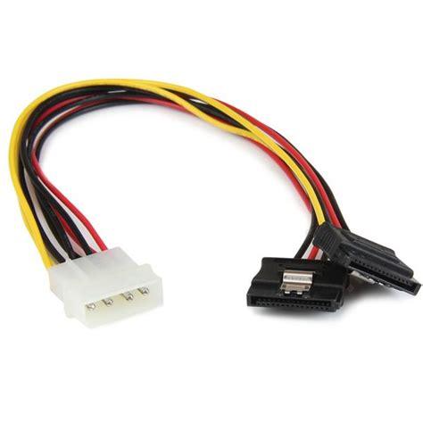 connettore alimentazione sata molex 4 pin a cavo sata cavo splitter lp4 a dual sata
