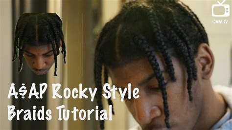 asap rocky hair asap rocky braids youtube