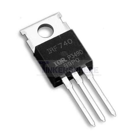 Transistor K1413 1 49 irf740 n channel mosfet 10a 400v tinkersphere