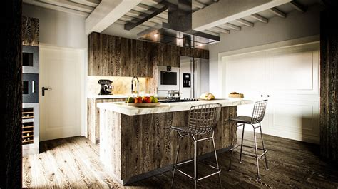 Rustic Kitchen Designs by Rustic Kitchen Design Interior Design Ideas