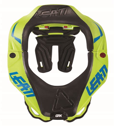 Leatt Gpx 5 5 Neck Brace 2019 leatt gpx 5 5 neck brace lime leatt neck protection