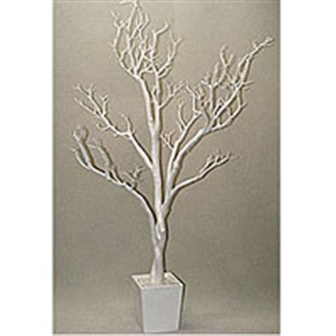 3 foot white centerpiece tree in decorative pot buy now