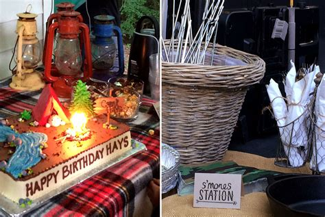 Throw A Camping Themed  Ee  Birthday Ee    Ee  Party Ee