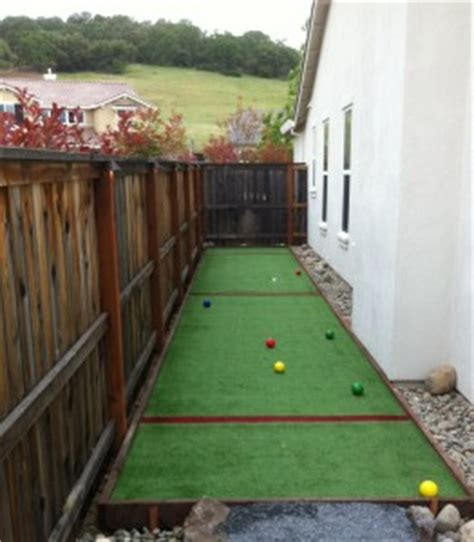 Backyard Bocce Court Dimensions by Artificial Turf Grass Bocce Courts Tuffgrass 916