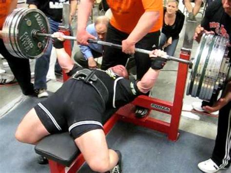 big show bench press shawn frankl 832 lb bench press at big spring open youtube