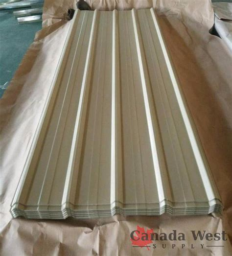 lon smith roofing history 40 sheets steel siding roofing 29 16 ft beige