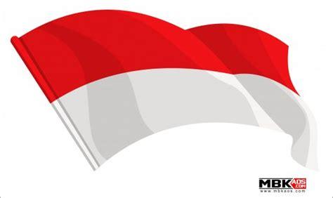 Logo Background Putih gambar bendera indonesia merah putih vector cdr ai pdf