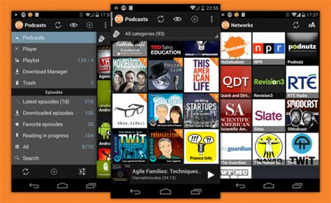 podcasts android best podcast app for android