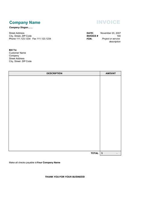 Simple Invoice Template Pdf Invoice Template Ideas Simple Invoice Template Pdf