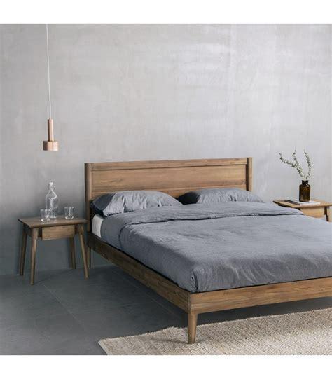 vintage bed frame mountain teak
