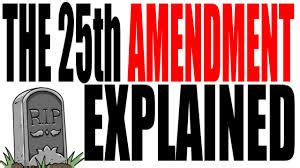 25th amendment section 4 25th on emaze