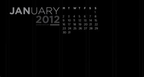 january  calendar wallpaper jared erickson
