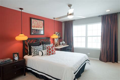 black and red bedroom walls red accent wall kitchen contemporary with dining table contemporary table runners
