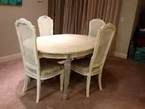 Painted Dining Room Set by Custom Painted Vintage Hand Painted Dining Room Set