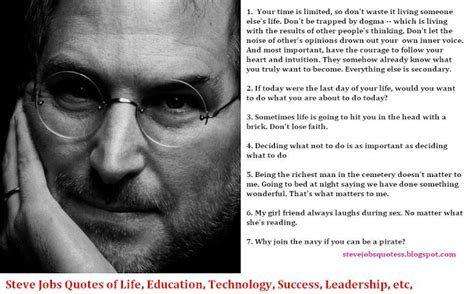biography of steve jobs for students 34 inspirational steve jobs quotes and biography no one