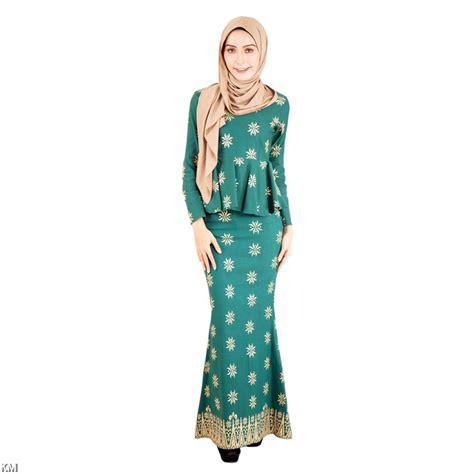 Baju Kurung Motif Songket Pinus lunar peplum baju kurung songket m1308
