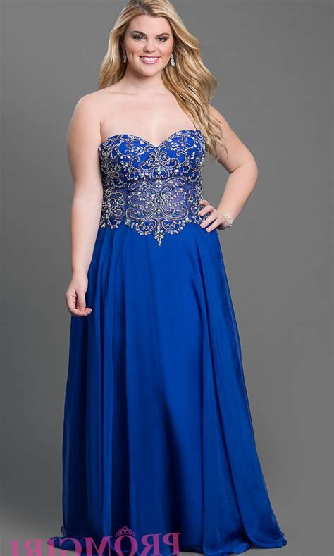 Best Plus Size Royal Blue Wedding Dresses of 2019
