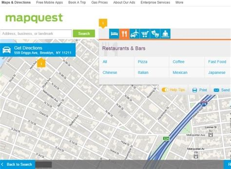 printable mapquest 6 best free google maps alternative services