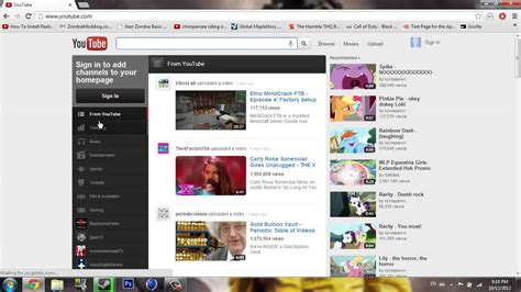 old youtube layout firefox how to go back to the old youtube layout december 2012