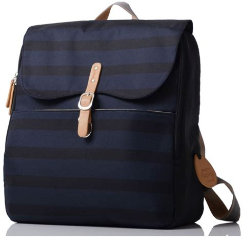 pacapod hastings changing bag in ink stripe mummy me
