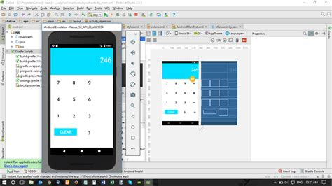 android layout not visible calculator imagebutton not visible on android studio on