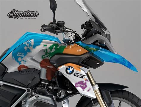 Buell Tankaufkleber by Bmw R1200gs Lc White Right Side The Globe Stickers Kit