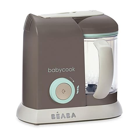 food steamer bed bath and beyond beaba 174 babycook pro baby food maker in latte mint bed