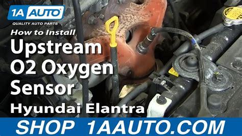 install replace upstream  oxygen sensor
