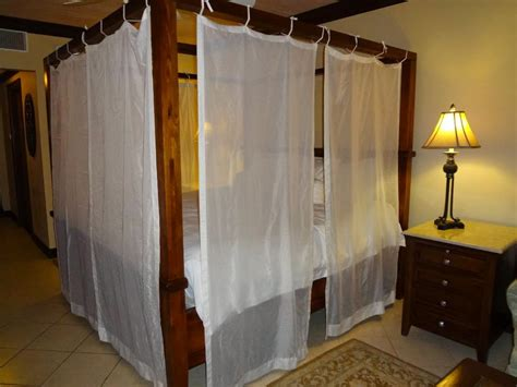 bed with curtains ideas for diy canopy bed frame and curtains curtains design