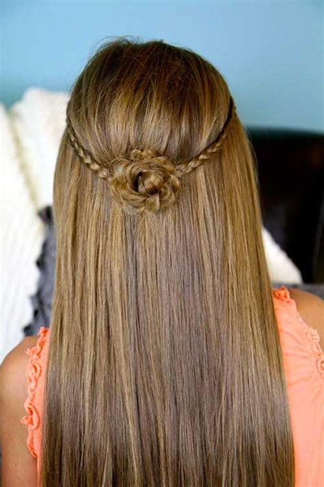 Hairstyles For Flower by 15 Flower Hairstyles Hairstyles 2016 2017