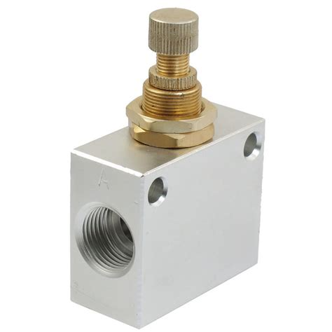 Pressure Speed Valve Flow 1 8 Chelic Asc 150 01 silver tone kla 15 one way restrictive air flow