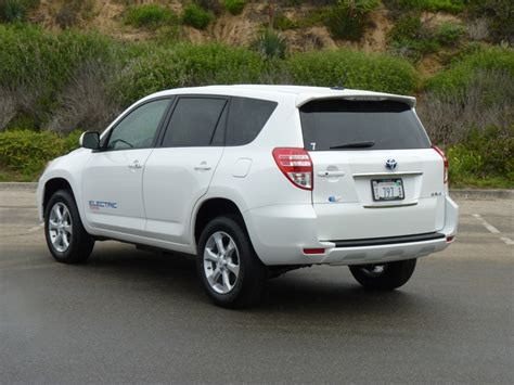 2012 Toyota Rav4 2012 Toyota Rav4 Ev All Electric Crossover Will Be Sold To