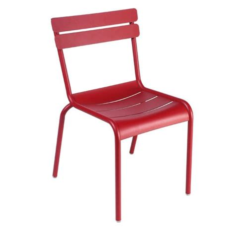 chaise fermob luxembourg chaise luxembourg piment de fermob
