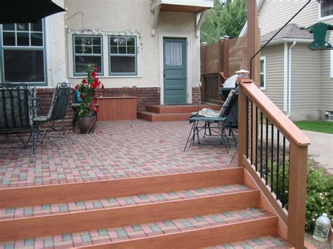 Composite Patio Pavers Is A Custom Deck Design Necessary For My Project Outdoor Living Spaces In Cities