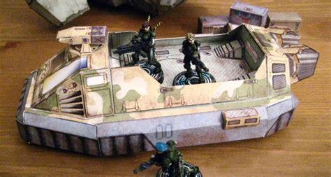 Sci Fi Papercraft - papercraft gaming sci fi vehicles and terrain