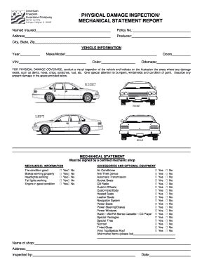 geico hawaii insurance card template alberta motor vehicle inspection form impremedia net