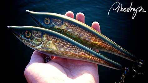Handmade Lure - piketrapz handmade pike lures that catch fish