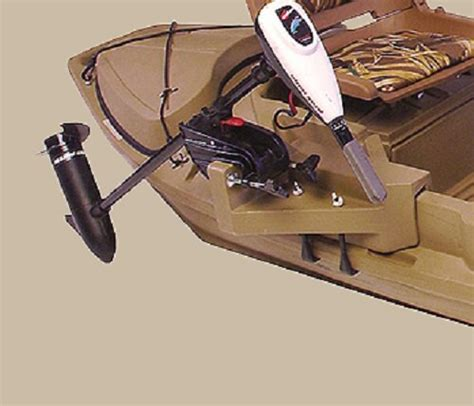 stealth 2000 duck boat motor mount 2000 series beavertail 400223 stealth duck hunting boat