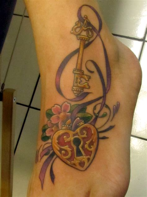 key heart tattoo key tattoos designs ideas and meaning tattoos for you