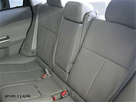 Limited Recline Seat by 2010 Subaru Forester Interior Photos And Images