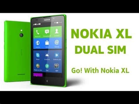 Hp Nokia Xl Dua Sim nokia xl dual sim android phone