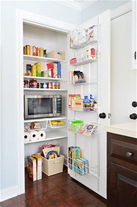 25 best ideas about microwave in pantry on
