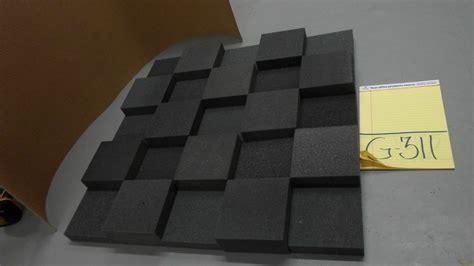 thick studio acoustic soundproofing foam tiles