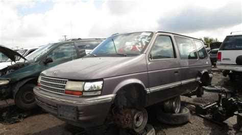 how make cars 1994 plymouth voyager user handbook junkyard find 1993 plymouth voyager with five speed manual the truth about cars