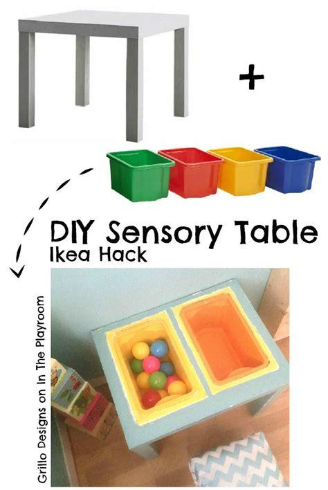 Ikea Hacks Kinderzimmer Spieltisch by Diy Sensory Table Ikea Hack Ikea Hacks Kinder