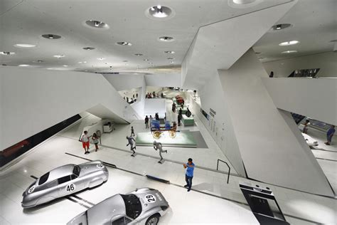 porsche museum structure karatzas highlights the architecture of delugan meissl s